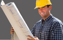 Photo of Man in Hard Hat Holding Blueprints