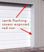 Jamb And Header Trim Dress Up A Building For Very Little Expense