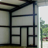 Interior liner panels for our steel buildings at - Metal building interior liner panels ...